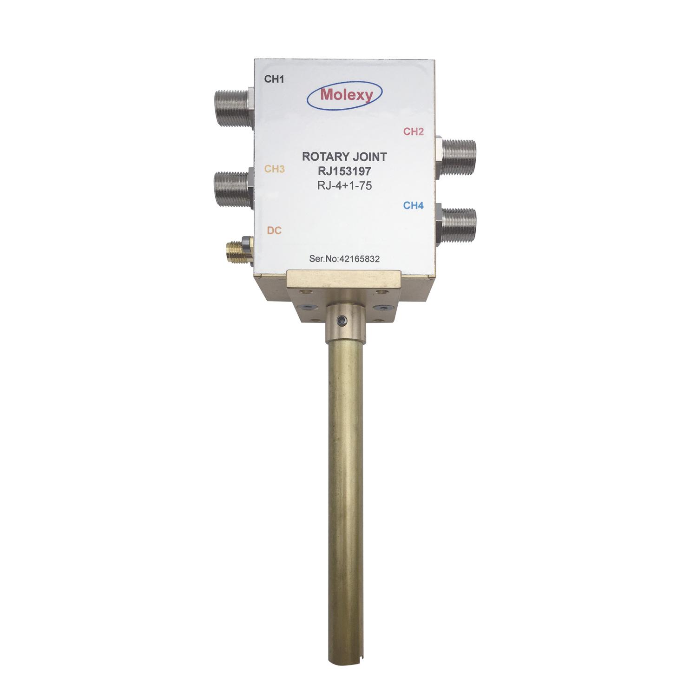四路同轴旋转关节RJ153197[DC to 2.2 GHz] F SMA